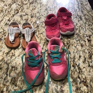 Girls bundle of shoes